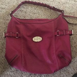 Hot💎4/14$ pink purse Rossetti brand pleather med